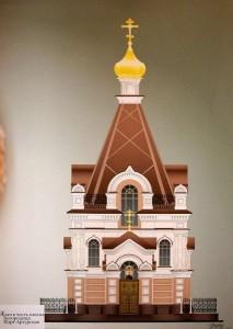 Проект храма в честь Порт-Артурской иконы «Торжество Пресвятой Богородицы» в Екатеринбурге, на пересечении улиц Восточная и Шевченко.