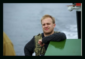 2011г.М.М. Осипенко, геофизик. Великий Северный морской путь, в экспедиции на ледоколе