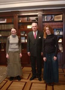 Встреча с Послом РФ в Сербии А.В. Конузиным