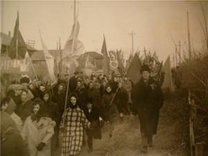С.Я.Талызин на демонстр.