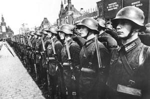 1мая 1938г. Красная площадь